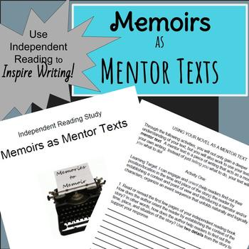 Common Core Aligned Independent Reading: Memoirs as Mentor Texts