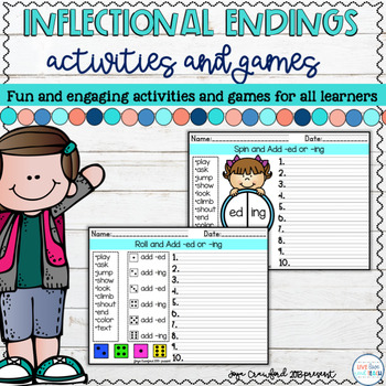 Common Core Aligned Inflectional Endings Assessment