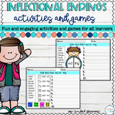Inflectional Endings Activities and Games | Digital | Dist