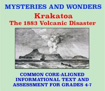Mysteries and Wonders Passage and Assessment #16: Krakatoa Volcano Disaster