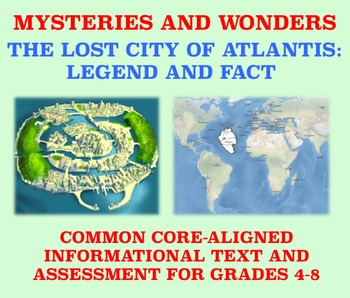 Mysteries and Wonders Passage and Assessment #14: Atlantis: Legend and Fact