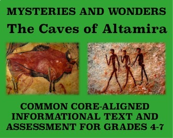 Mysteries and Wonders Passage and Assessment #7: The Caves