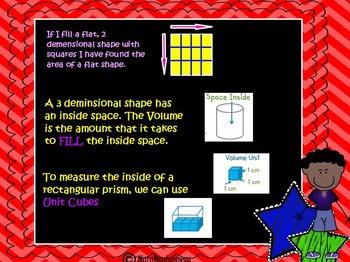 Common Core Aligned Introduction to Volume Using Unit Cubes 5Md.3a