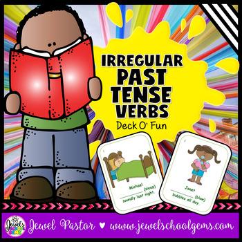 Irregular Past Tense Verbs Activities (Irregular Past Tense Verbs Game)