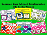 Common Core Aligned Kindergraten File Folder Games- Speaki