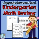 Kindergarten Math Review and Assessment