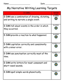 Common Core Aligned Kindergarten Writing Toolkit