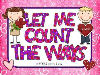 Common Core Aligned: Let Me Count the Ways Math Pack