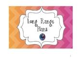 Common Core Aligned Long Range Plans for Kindergarten