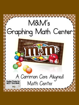 Common Core Aligned M&M's Graphing MATH CENTER