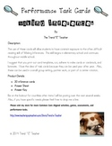 Common Core Aligned: Making Inferences Performance Task Cards