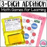 Three Digit Addition Game | Second Grade Math Games