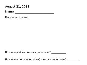 Common Core Aligned Math Journals