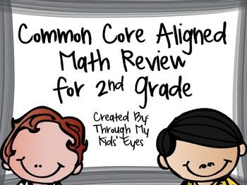 Common Core Aligned Mini Math Reviews