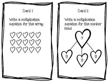 Common Core Aligned Multiplication Task Cards