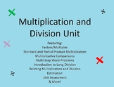 Multiplication and Intro to Division Unit