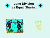 Common Core Aligned New Long Division Equal Sharing Strategy
