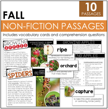 Common Core Aligned: Non-Fiction Fall Stories