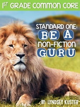 Non-Fiction Guru! {Standard 1: Ask and Answer Questions}