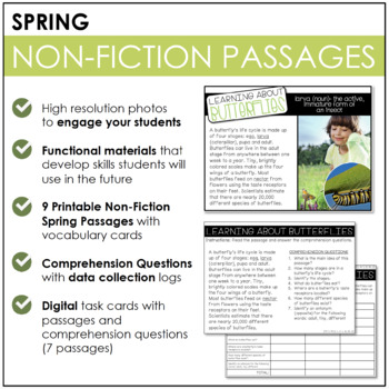 Common Core Aligned: Non-Fiction Spring Stories