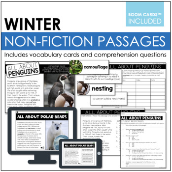 Common Core Aligned: Non-Fiction Winter Stories