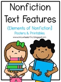 First Grade Text Features: Nonfiction Notebook