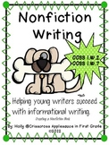 Common Core Aligned Nonfiction Writing ~ Creating a Nonfiction Book