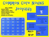 Common Core Aligned Nouns TV Trivia Game-Plural, Abstract, Irregular Nouns