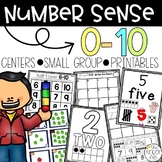 Number Sense 0-10 Activities