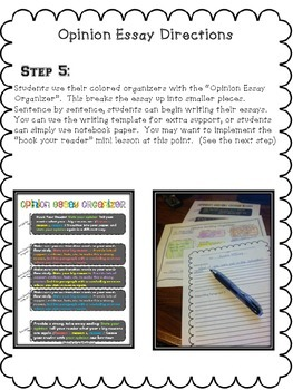 """""""Color Coded"""" Common Core Aligned Opinion Writing Essay Unit"""