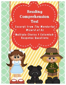 Common Core Aligned, PARCC like, READING COMPREHENSION TEST