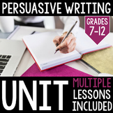 Persuasive Essay and Propaganda Unit: Grades 7-12