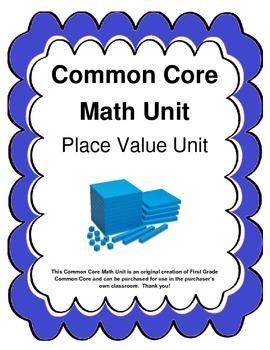 Common Core Aligned Place Value Math Unit