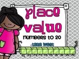 Common Core Aligned Place Value Mini Unit {numbers 1-20}