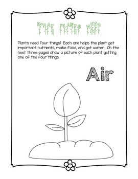 Common Core Aligned Plant Journal--Super Fun!