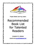 Common Core Aligned Project Based Learning - Recommended Book Review