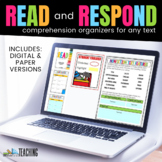 Read All About It: Standards Based Comprehension Sheets for ANY BOOK!