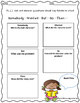 Common Core Standards Reading Graphic Organizers {First Gr