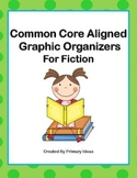 Common Core Aligned Reading Graphic Organizers For Fiction