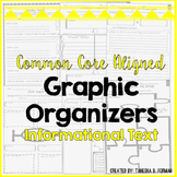 Common Core Aligned Reading Informational Text Graphic Org