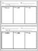 Common Core Aligned Reading Response Sheets