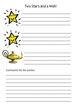 Common Core Aligned Revision/Editing Partner Checklist for Fiction Writing