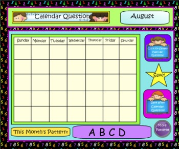 Math Calendar/Calendar Math for SmartBoard: Gr 4-5 Common Core-Aligned