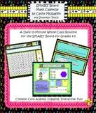 Math Calendar/Calendar Math for SmartBoard: Gr 4-5 Common Core-Aligned