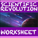 Scientific Revolution Worksheet: Common Core Learning Stan