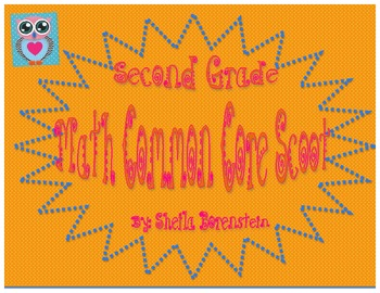 Common Core Aligned: Second Grade Math Scoot (review)