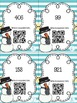 Snowman Place Value Scoot  with QR Codes