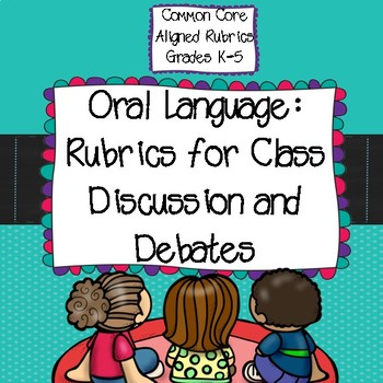 Common Core Aligned Speaking and Listening Rubrics