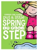 Common Core Aligned: Spring Writing Prompts and Pages