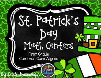 St. Patrick's Day Math Centers (First Grade)